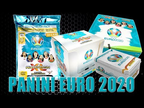 Panini EURO 2020 TRADING CARDS | STARTER BLISTER FATPACK BOOSTER MEGA TIN BOX | LIVE 🔴