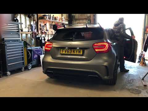 A45 AMG Remus Exhaust with 200 cell Downpipe