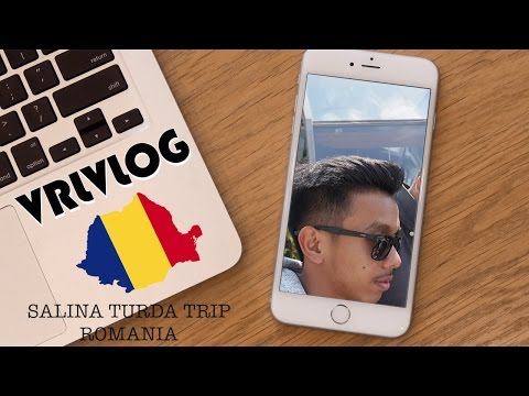 SALINA TURDA TRIP ROMANIA (Salt Mine)- VRLVLOG #11