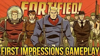 Fortified Gameplay part 1 - THE ALIENS ARE COMING! - Fortified! First Look (Funny Moments)