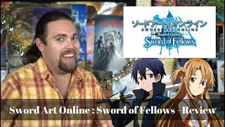 Sword Art Online : Sword of Fellows - Board Game Review