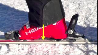 Как научится кататься на горных лыжах.Обучение Основам Горнолыжной Техники Динамический Баланс