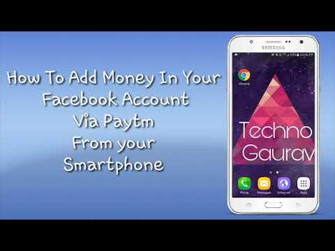 How To Add Money In Your Facebook Account Via Paytm Wallet From Your Smartphone