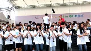 奈良市内中学校合同バンド 宝島