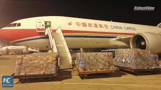 Half a million masks from China arrive in Spain