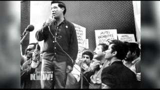 Labor Leader Eliseo Medina on Fasting for Immigration Reform, Organizing with Cesar Chavez