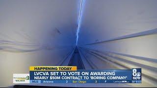 LVCVA to vote on Elon Musk's proposed