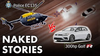 Can Fastest Getaway Driver In Bradford Outrun Police Chopper?