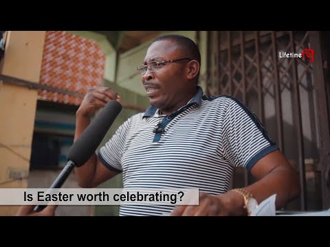 THE OPINION / Is Easter Worth Celebrating?/ LIFETIME TV Vox Pop