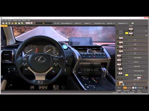 Maxwell Render V3.2 - Multilight Editor