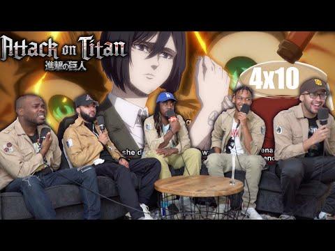 """Mikasa's Family Secret! Attack on Titan Season 4 Episode 10 """"A Sound Argument"""" REACTION!"""