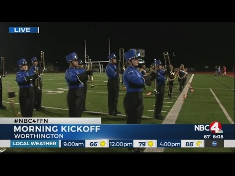Football Friday Nite Morning Kickoff at Worthington Kilbourne High School