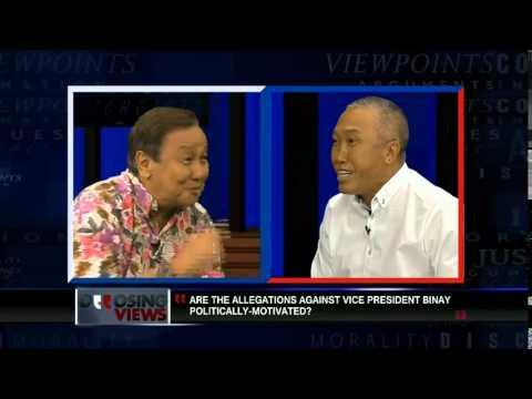 Opposing Views Episode 65: Allegations against VP Binay