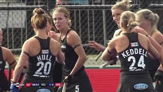 New Zealand v United States | Match 13 | Women's FIH Hockey Pro League Highlights