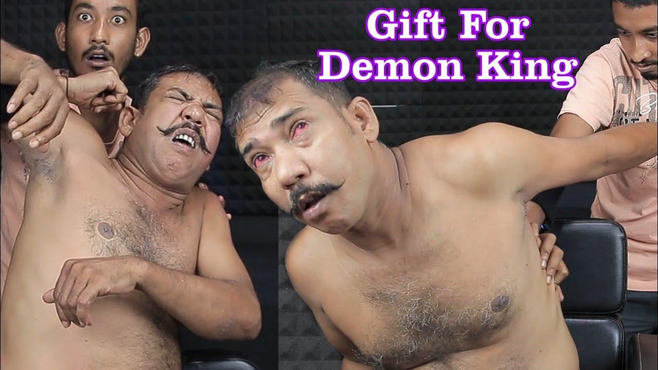 Awesome Gift For Demon King Asim Barber   ASMR Head Massage , Neck And Spine Crack for Asim Barber