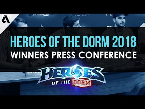 Heroes of The Dorm 2018 Winners Press Conference ft. Université Laval