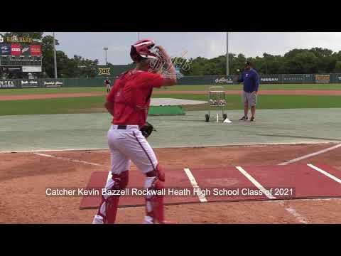 Catcher Kevin Bazzell Rockwall Heath High School Class of 2021