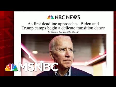 First Deadline For Possible Transition Of Power Nears | Morning Joe | MSNBC