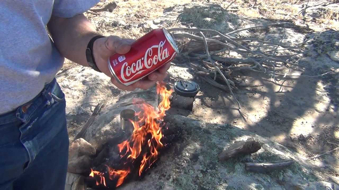 how to make a soda can