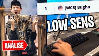 BUGHA * 16 YEARS * THE SECRET OF A WORLD CHAMPION! -FORTNITE ANALYSIS