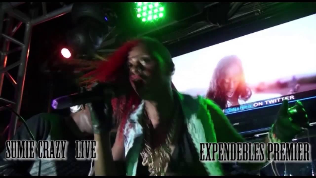 Download Dj shiru ft Sumie Crazy Live expendebles Premier 2015