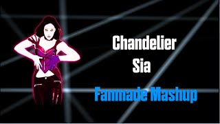 Chandelier Sia | Just Dance Fanmade Mashup
