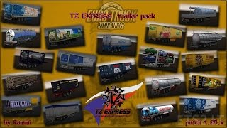 [ETS2 v1.25] ETS2 TZ Trailer Pack 1.25.2.2