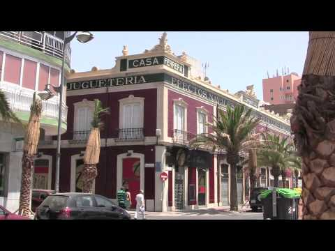 The streets of Almeria, Spain - 29th July, 2010