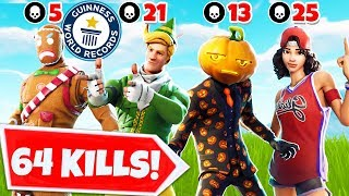 We Got The Fortnite Elimination *WORLD* Record | Ft. Lazarbeam, Lachlan & Fresh