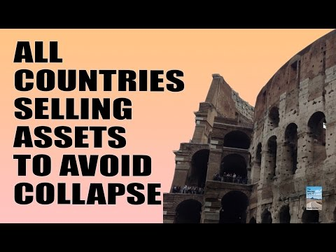 Global Economic Collapse Forces Countries to Sell State Assets for Rock Bottom Prices!