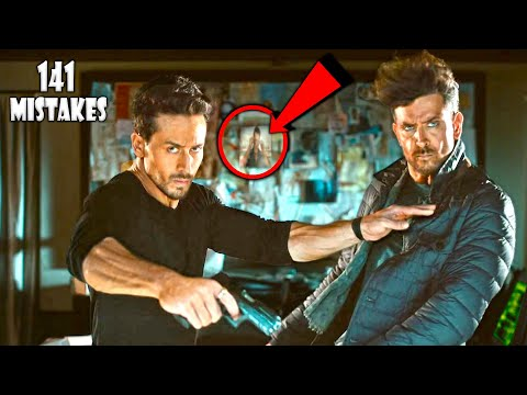 "(131 Mistakes) In War | Plenty Mistakes In "" WAR "" Full Hindi Movie - Hrithik Roshan & Tiger Shroff"