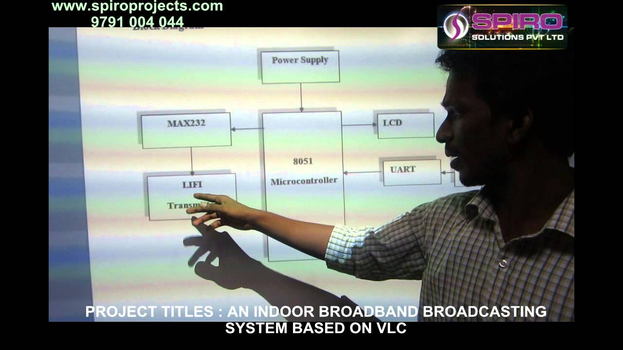Spiro Offer Final Year LIFI Projects in chennai