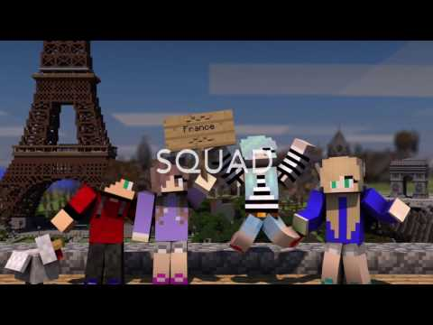 Minecraft Introducing The Characters!
