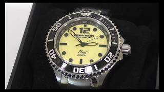 New watch Vostok Amfibia Reef 080494 2415.12 from Chistopol watch factory