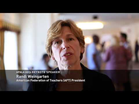 APALA Convention 2013 Interview with Randi Weingarten, AFT President