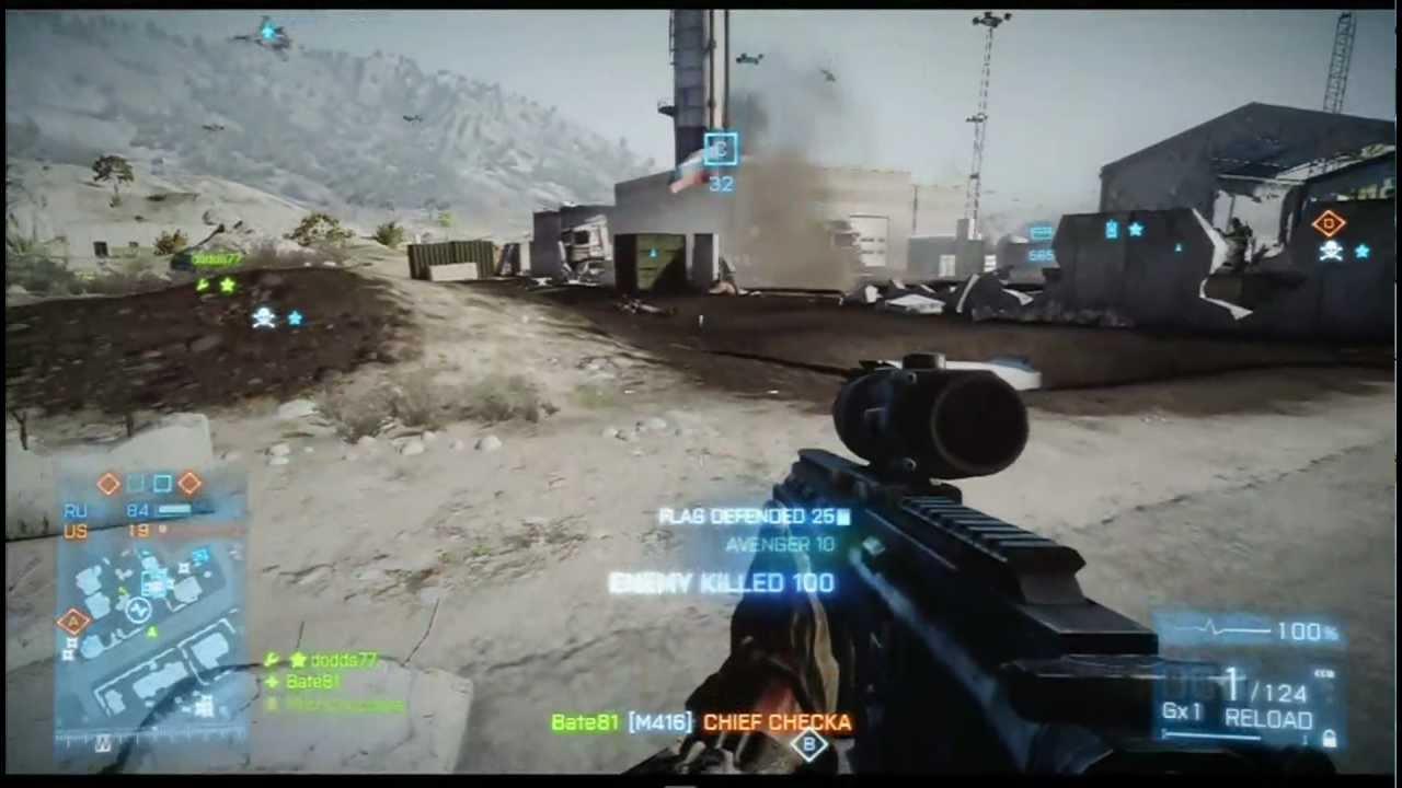 Battlefield 3 Xbox 360 gameplay - YouTube