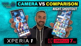 Sony Xperia 1 Vs Oneplus 7 Pro Camera | @ Night