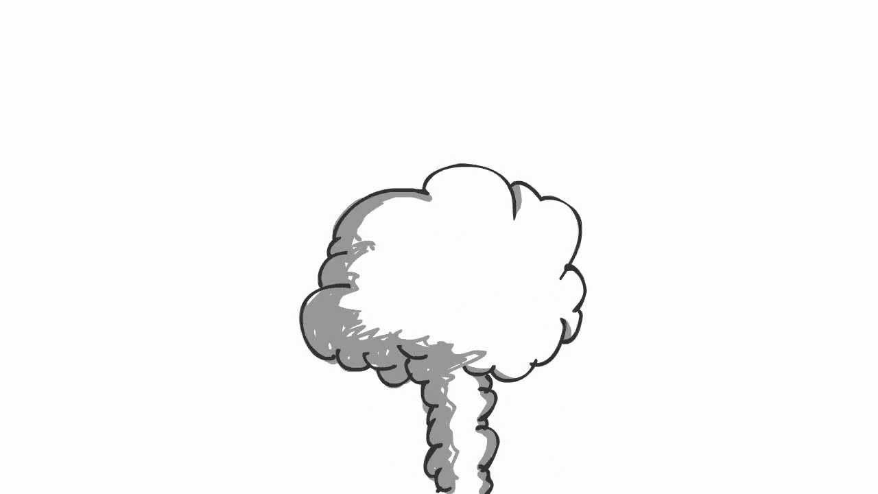 It's just a graphic of Astounding Smoke Cloud Drawing