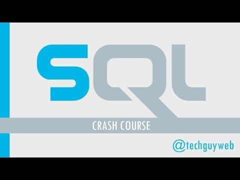 SQL Crash Course - Beginner to Intermediate
