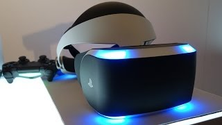 PlayStation Project Morpheus VR Headset Editors
