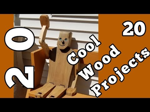 20 Cool Woodworking Project Ideas