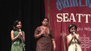 Ilayaraja Medley Light-Music/Karaoke @ Kalakkal 2013 - Seattle Tamil Sangam