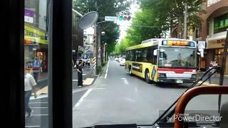【東急バス 前面展望】 青32系統〜雨堤循環〜(桜台団地先回り)
