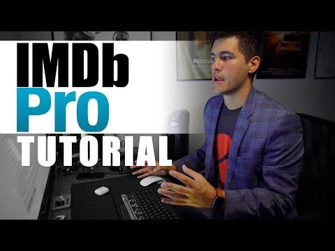 IMDb Pro Tutorial 2019 - How To Use IMDb Pro