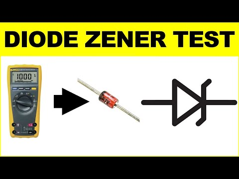Comment Tester Simplement Une Diode Zener How To Test The Voltage Of A Zener Diode