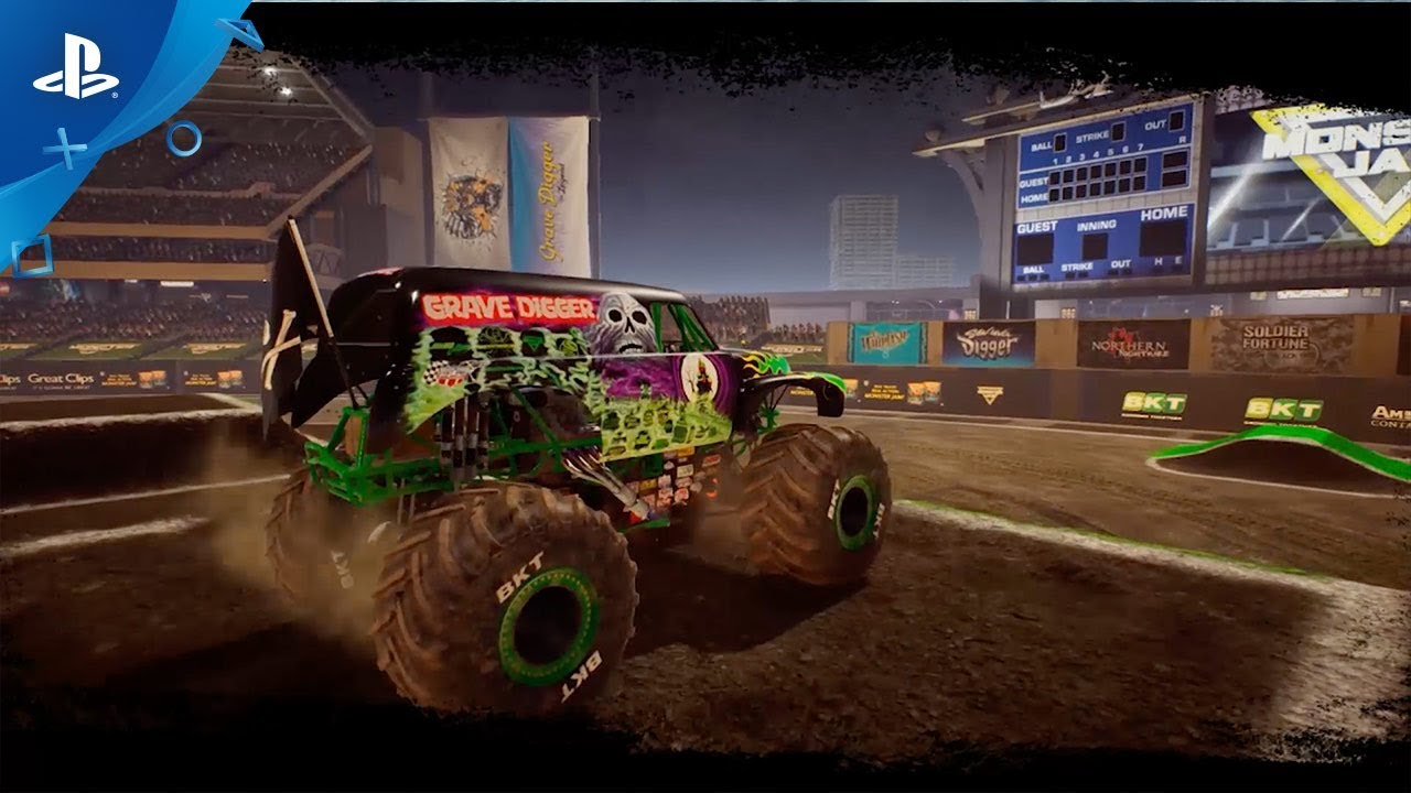 Monster Jam:  Steel Titans - Announce Trailer