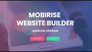 Mobirise Website Builder App for Android thumbnail