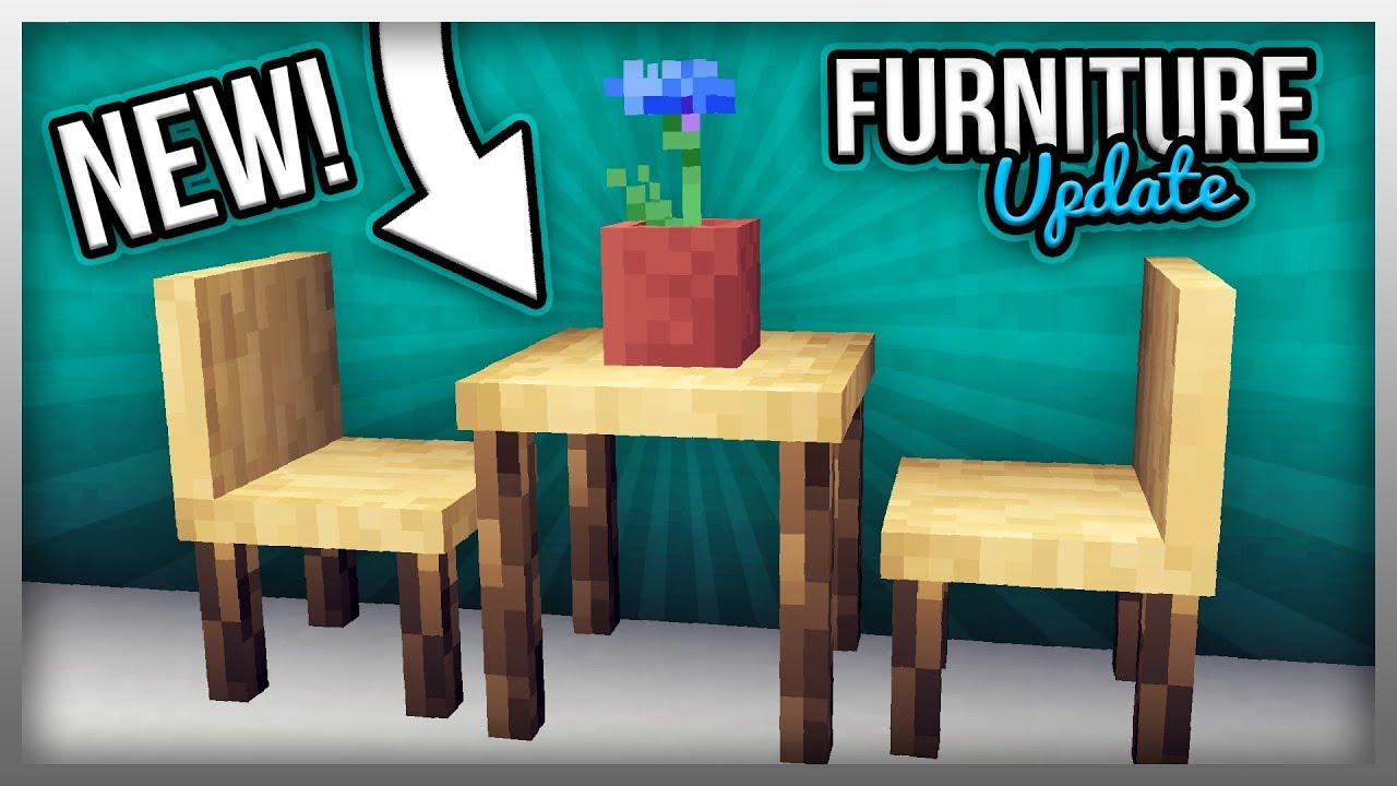 Furniture Mod For Minecraft 1 14 3 Furniture Mod Update