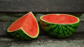 LEARN GERMAN Picture Dictionary  ► die Wassermelone ⇔ watermelon ◄ Vocabulary   Example Sentences