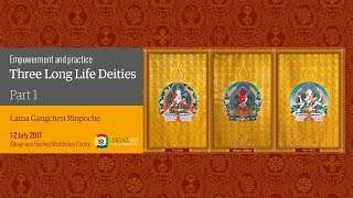 Empowerment and practice of the three Long Life Deities (English – Italian) – 1/2 July 2017